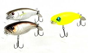 fishing lure DEPS Buzz Jet Floating Lure top water diving 96mm  30g x 3 lures