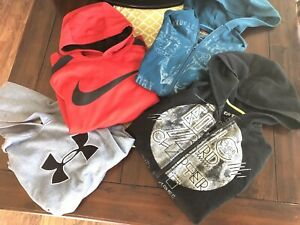 Huge Lot Boys NIKE UNDER ARMOUR EPIC THREADS Hoodies 4 Xl L