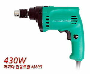 Makita M803 Electric Hammer/Drill 220V 430W Handle Included Brand NEW