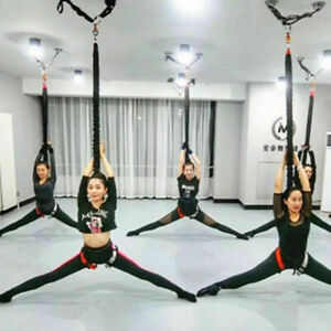 Aerial Anti-gravity Yoga Resistance Band Bungee Gym Dance Rope Suspension Cord