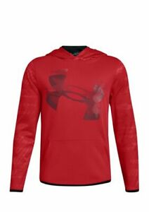 Boys 8-20 Under Armour Red Hoodie NWT size L