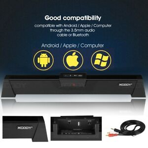 SoundBars Wireless Bluetooth Wired Audio Surround Home Soundbar For TV PC Phone