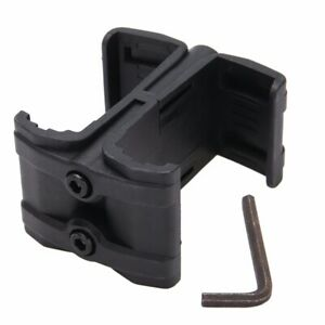 Tactical Magazine Parallel Connector Double ABS Link Clamp Kit Mount Holder USA
