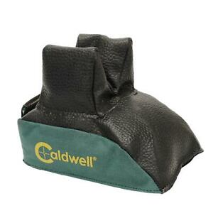 Caldwell Polyester & Leather Rear Shooting Bag Unfilled Green 226645
