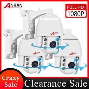 ANRAN PTZ Camera 1080P WIFI Wireless Security Camera System Outdoor 4X Zoom CCTV