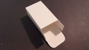 WHITE GIFT MERCHANDISE PACKAGING BOXES 75 PCS 5quot;X3quot;X2quot; VERY GOOD QUALITY USA