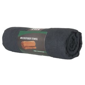 Military Microfiber Towel Super Absorbent Black 30 x 50 Hunt Camp Hike Outdoor