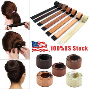 Hair Bun Twist Maker Donut Styling Braid Women Magic Accessory Tools Convenient