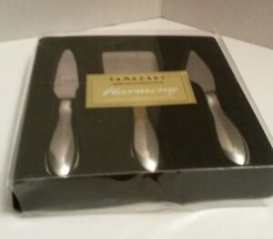 Yamazaki HARMONY Cheese Serving Knives Set of 3 Serving Essentials