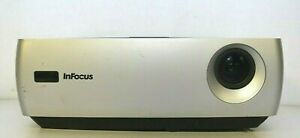 InFocus IN26+EP Multimedia DLP 2200 ANSI Lumens Projector 3920 Used Hours