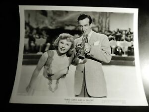 KGgallery June Allyson Two Girls and a Sailor MGM Press Photo Hollywood Movie