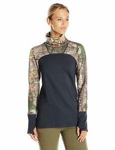 NWT Under Armour Tevo Cozy Neck Pullover Turtleneck Camo Hunting Womens $80