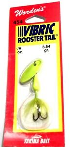 Worden's Lures Vibric Rooster Tail 18oz. Fluroescent Chartreuse