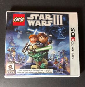 LEGO Star Wars III [ The Clone Wars ] (3DS) NEW