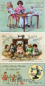 Singer 20 Toy Childs Sewing Machine 3 PICTURES $9.95