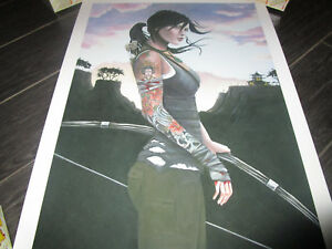 Tomb Raider CATE RANGEL REBORN GICLEE Official Print Lithograph #11
