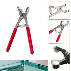 Glass Breaking Pliers for 2-8mm Glass Cutting Glazing Art Tool Carbon Steel Set