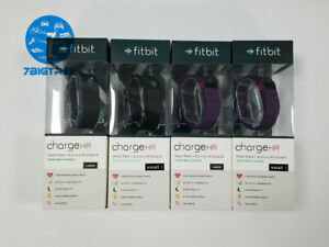 NEW Fitbit Charge HR Wireless Activity & Heart Rate Sleep Wristband Black Large