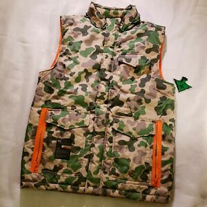 LRG Lifted Research Group Duck Camo Hunting Vest Youth Large. New with tag. Rare