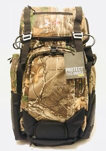 Under Armour Sample Hiking Hunting Backpack Camouflage Back Support Waist Strap