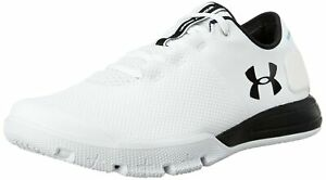 Under Armour Men's Charged Ultimate 2.0 Sneaker White (100)Black 13