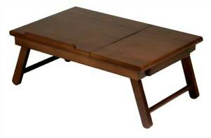Alden Lap Bed Tray in Antique Walnut Finish [ID 34835]