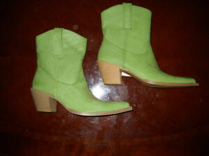 Two Right Feet Boots For Craft Project?? Salesman Samples $3.99