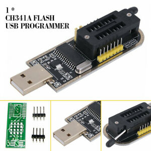 Mini 25 SPI Serie 24 EEPROM CH341A BIOS Writer Routing LCD Flash USB Programmer