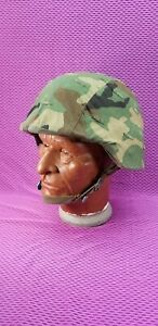 MILITARY PASGT HELMET GROUND TROOPS PARACHUTISTS 8470-01-092-7526 NEW HEADBAND