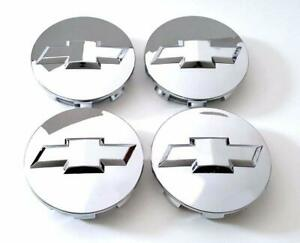 4pcs Chrome Chevy Suburban Tahoe Center Caps 9596403 3.25 18 20 22 inch Wheels