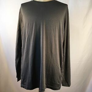Under Armour Mens Size XL T-Shirt Fitted Athletic Heat Gear Long Sleeve Gray