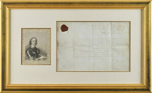 Oliver Cromwell - English Civil War-Dated Document Signed - Appoints Lieutenant