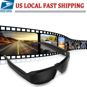 1080P HD Hidden Spy Camera Sunglasses Glasses Eyewear Audio Video Recorder DVR