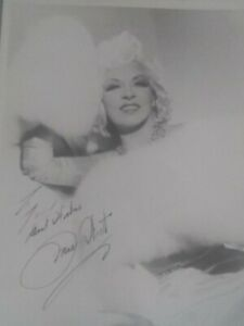 Autographed Signed Mae West 8