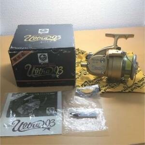 OLYMPIC Reel Ultra93 Spinning Reel Near mint Limited Very Rare with oil and Bag