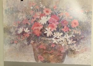 FINE ART LITHOGRAPH: Antique Vase From An Original Watercolor By Dawna Barton $21.00