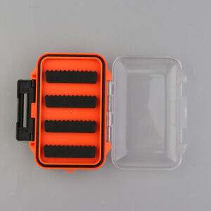 Double Sided Lure Spoon Hook Bait Fly Fishing Storage Box Tackle Case