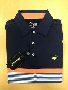 Masters Dry Fit Golf Polo Shirt by Masters Tech from 2019 Tiger Woods Tournament