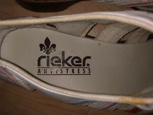Ricker Antistress Natural Leather Shoes - Size 9