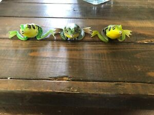 Lunkerhunt Lunker Frogs Lot Of 3 Tree Bull Swamp Top Water Hollow Bass Lure