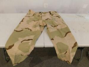 Extended Cold Weather Desert Camo Trousers SMALL-REG 8415-01-475-3740 GORETEX