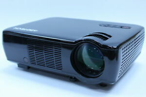 Abdtech Outdoor Movie Projector Portable Home Theater Projector w 2600 Lumens