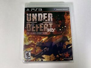 Under Defeat HD Deluxe Edition (Sony Playstation 3) BRAND NEW