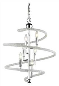 6-Light Pendant in Chrome Finish [ID 3516648]