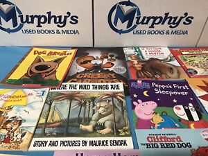 Childrens Bedtime Books LOT OF 20 Story Time Sets Paperback Hardcover