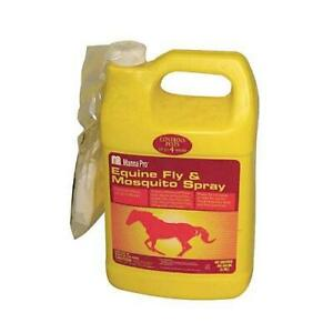 Manna Pro 0593405864 Ready-to-Use Equine Fly and Mosquito Spray for Horses 1-Qt