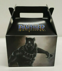 BLACK PANTHER PARTY FAVOR BOXES Set of 10
