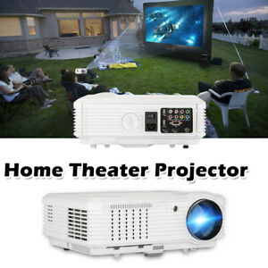 LED LCD Home Theater Projector Multimedia Game Movie HDMI HD 1080p Video USB VGA