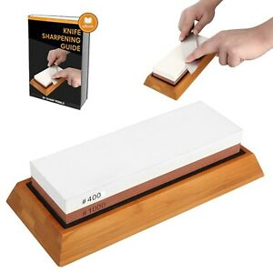 Whetstone Sharpening Stone, 1000/400 Grit Chef Knife Sharpener