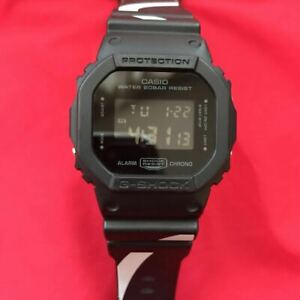 CASIO G-SHOCK DW-5600VT Nano Universe Limited Concre black gold chic design